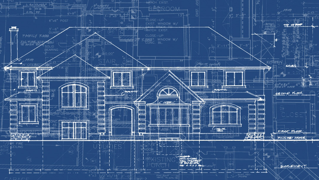 new home blueprint - new home construction in Anchorage, AK and Eagle River, AK also Chugiak, AK