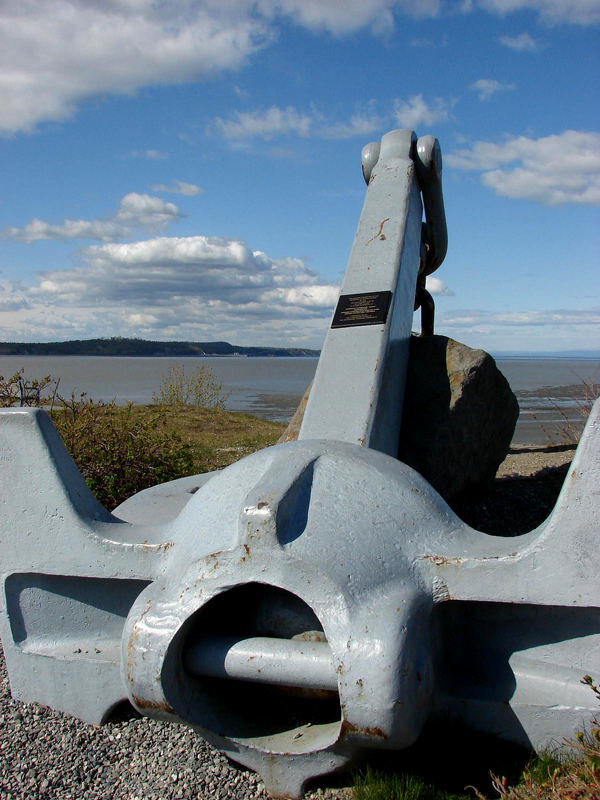 Downtown Anchorage Boat Harbor Anchor